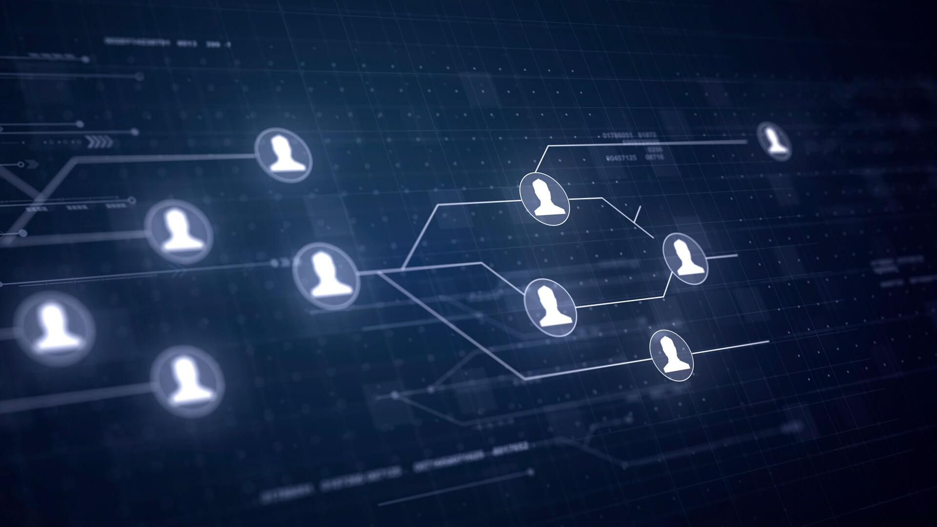 Conexão de dados de usuários