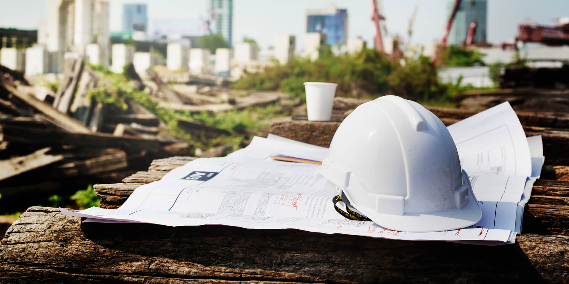 Área de construção predial